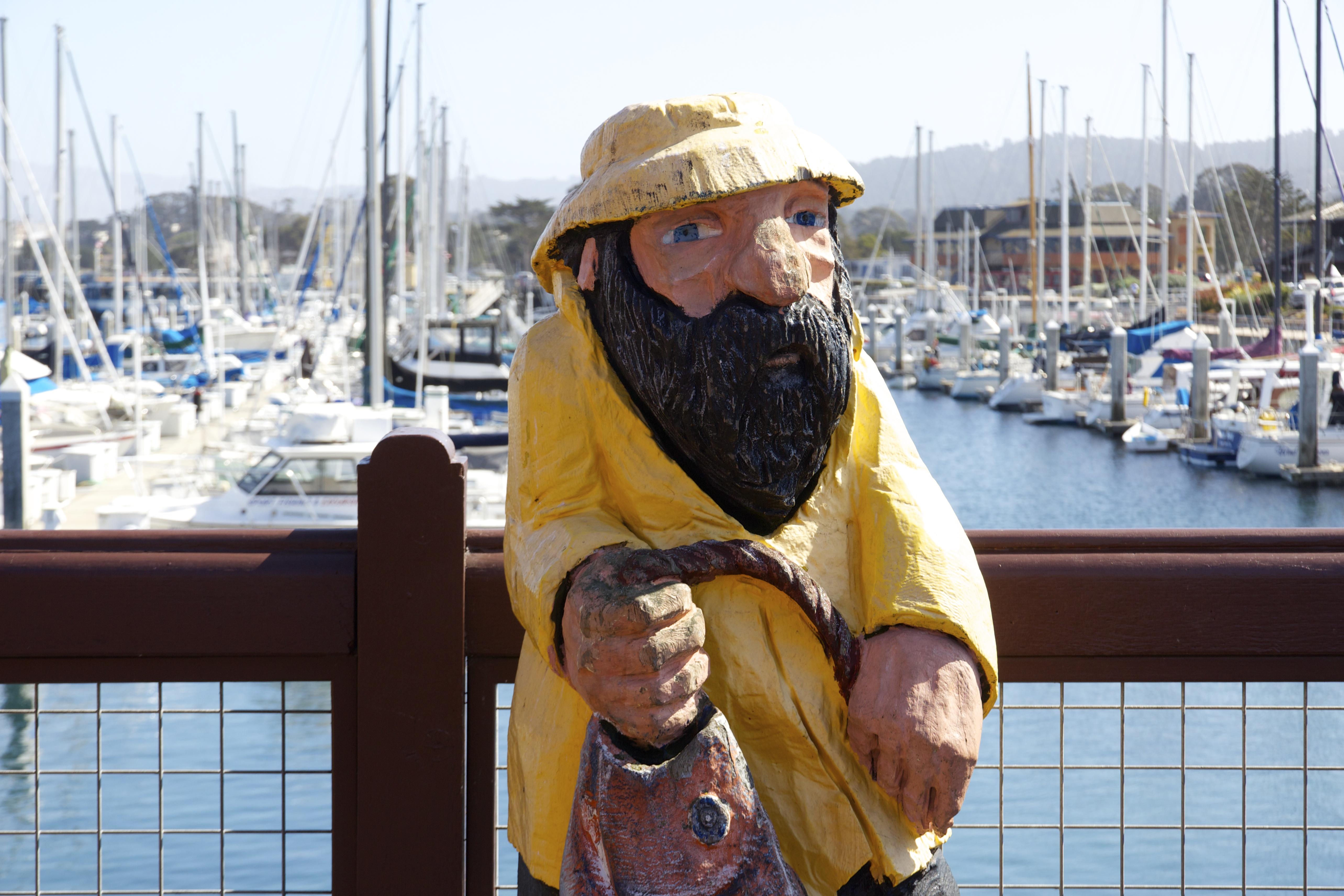 Fisherman Statue Monterey