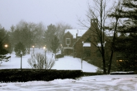 Snowy Day at Mercyhurst University